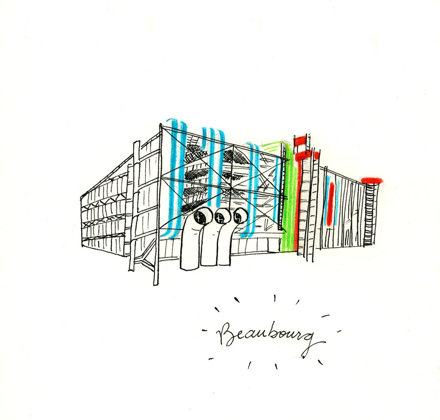 Centre Georges Pompidou - Beaubourg