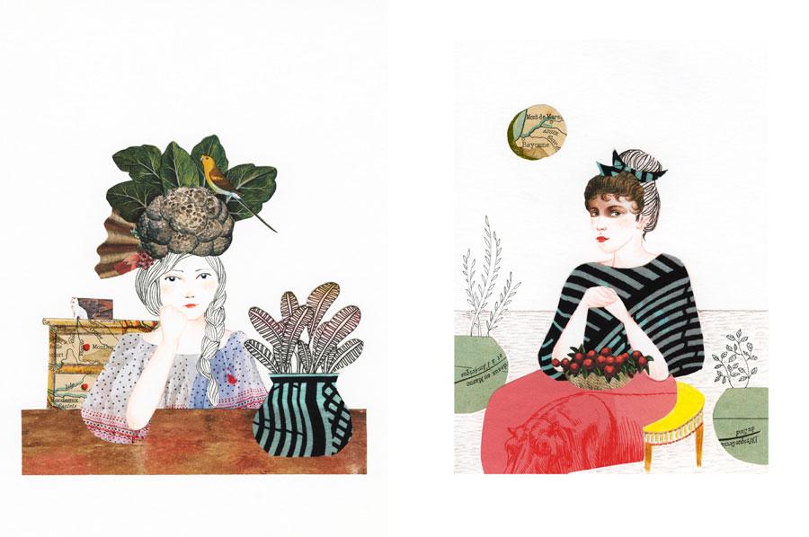 Collage Pompadour