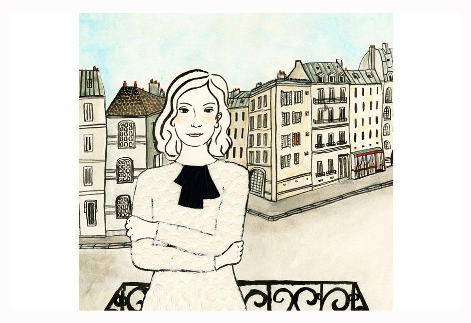 ilustração mulheres da série Dalva
