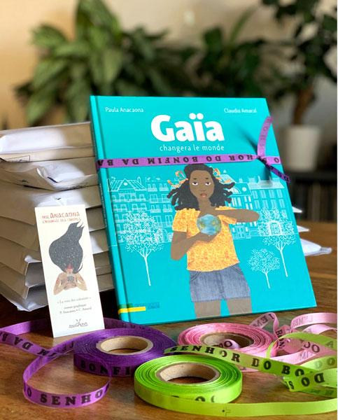 Couverture album Gaia changera le monde - éditions Anacaona
